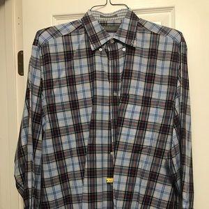 Men's Daniel Cremieux plaid shirt